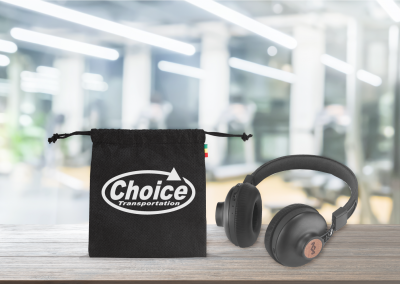 CASE STUDY – CHOICE TRANSPORTATION MARLEY HEADPHONES